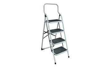 Precise Investigation: a step ladder like this one was used