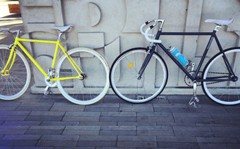 Hugh and Carmel's New Bicycles