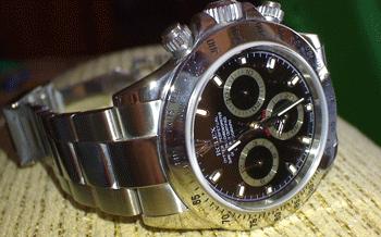 The Stolen Watch - A Rolex Daytona, worth over $3000