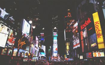 city lights advertising