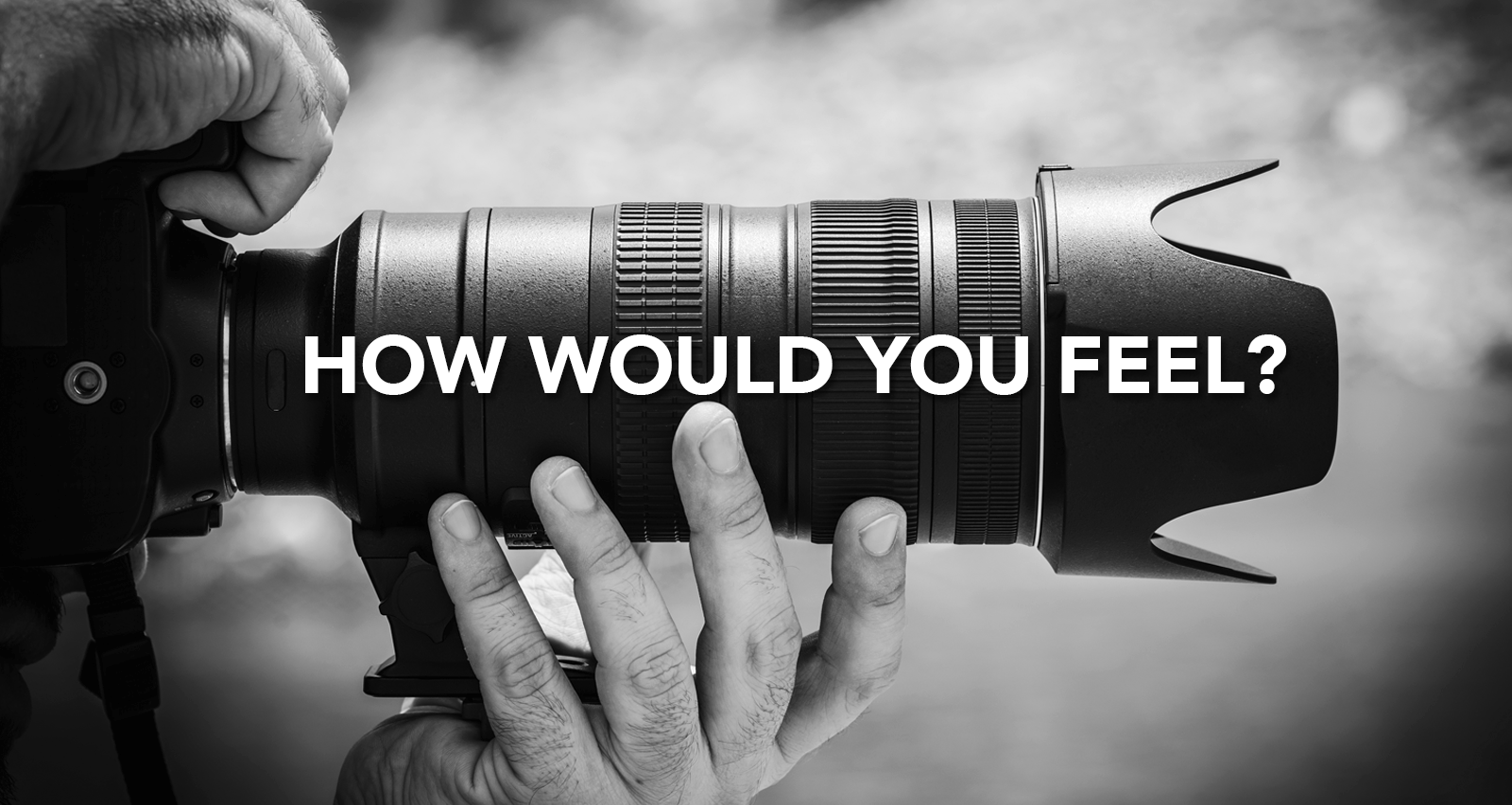 How Would You Feel If You Were Investigated?