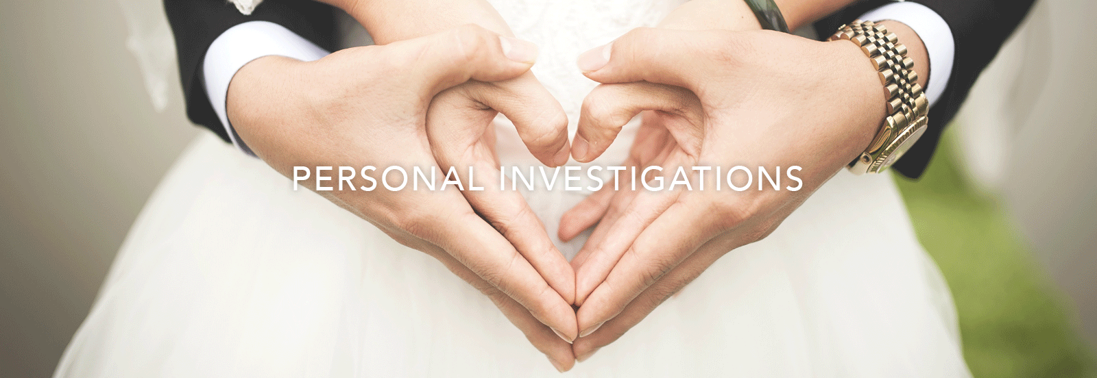 Private Investigation Services - Over 30 Years' Experience